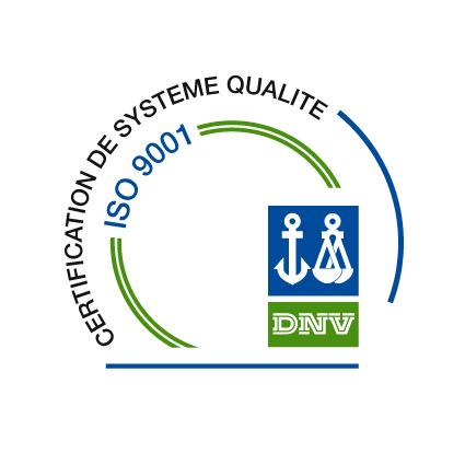 Logo ISO 9001 DNV