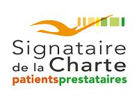 Signataire de la Charte patients-prestataires